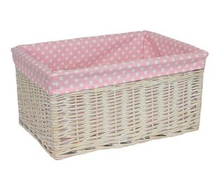 Storage Willow Basket By Lily Manor