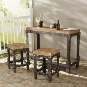 manor 3 piece pub table set