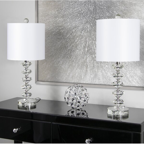 "House Of Hampton Mcmillin Crystal 23"" Table Lamp & Reviews by House Of Hampton"