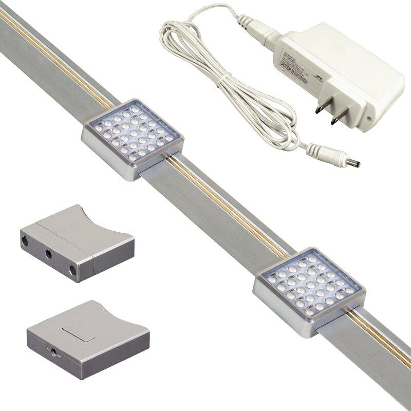 Orionis 2-Light LED Track Kit  sc 1 st  Wayfair & Plug In Led Track Lighting | Wayfair