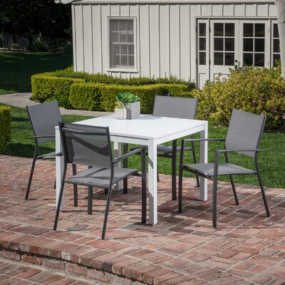 Frampton Cotterell 5 Piece Dining Set by Latitude Run Best Choices
