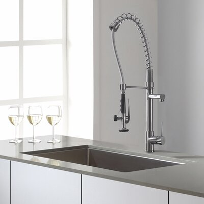 Tournant Semi-Professional Kitchen Sink Faucet with BerrySoft™ and ...