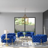 Anika 3 Piece Living Room Set by Everly Quinn