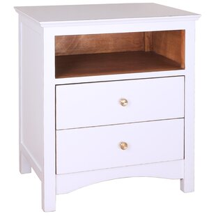 Porthos Home Giselle 2 Drawer Nightstand