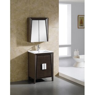 Emerson 23.63 x 27.13 Surface Mount Medicine Cabinet by Langley Street