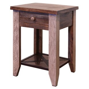 Streetman 1 Drawer End Table by Millwood Pines