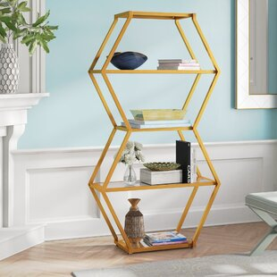 Find a Tryphena Geometric Bookcase by Willa Arlo Interiors