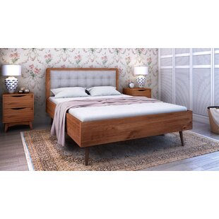 Hartlepool Queen Size Upholstered Panel Bed