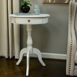 Wedgewood End Table With Storage