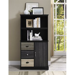 Red Barrel Studio Snowy Mountain Standard Bookcase