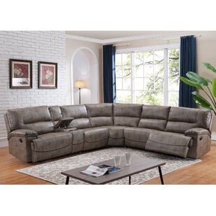 Kuntz Donovan Reversible Reclining Sectional Red Barrel Studio Good stores for