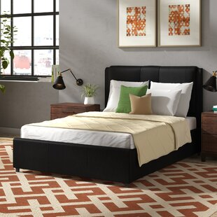 Review Ellie Upholstered Storage Bed Frame