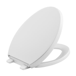 Check Prices Reveal Quiet-Close with Grip-Tight Elongated Toilet Seat By Kohler