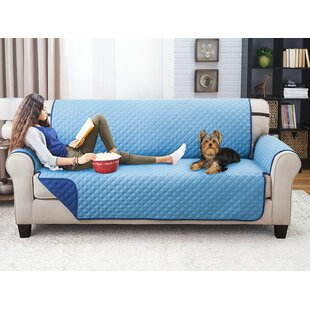 Reversible Extra Wide Sofa Slipcover by Winston Porter