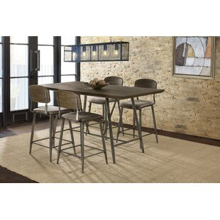 Georgia 5 Piece Counter Height Dining Set 17 Stories