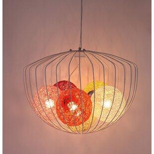 Jianyu 6-Light Geometric Chandelier by Bungalow Rose