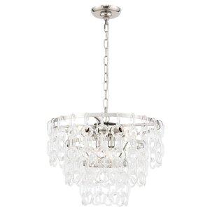 Dmitri 6-Light Crystal Chandelier by Mercer41