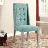 Sheetz Upholstered Dining Chair (Set of 2) by Highland Dunes