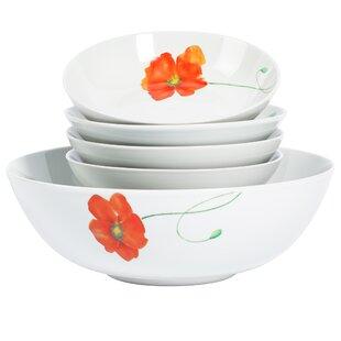 Laplante 5 Piece Serving Bowl Set