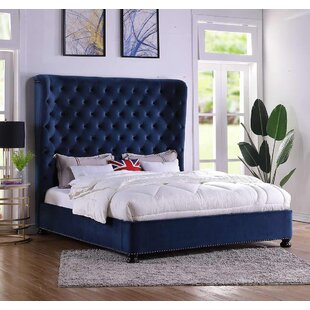 Affordable Price Houk King Upholstered Panel Bed by Mercer41 Reviews (2019) & Buyer's Guide