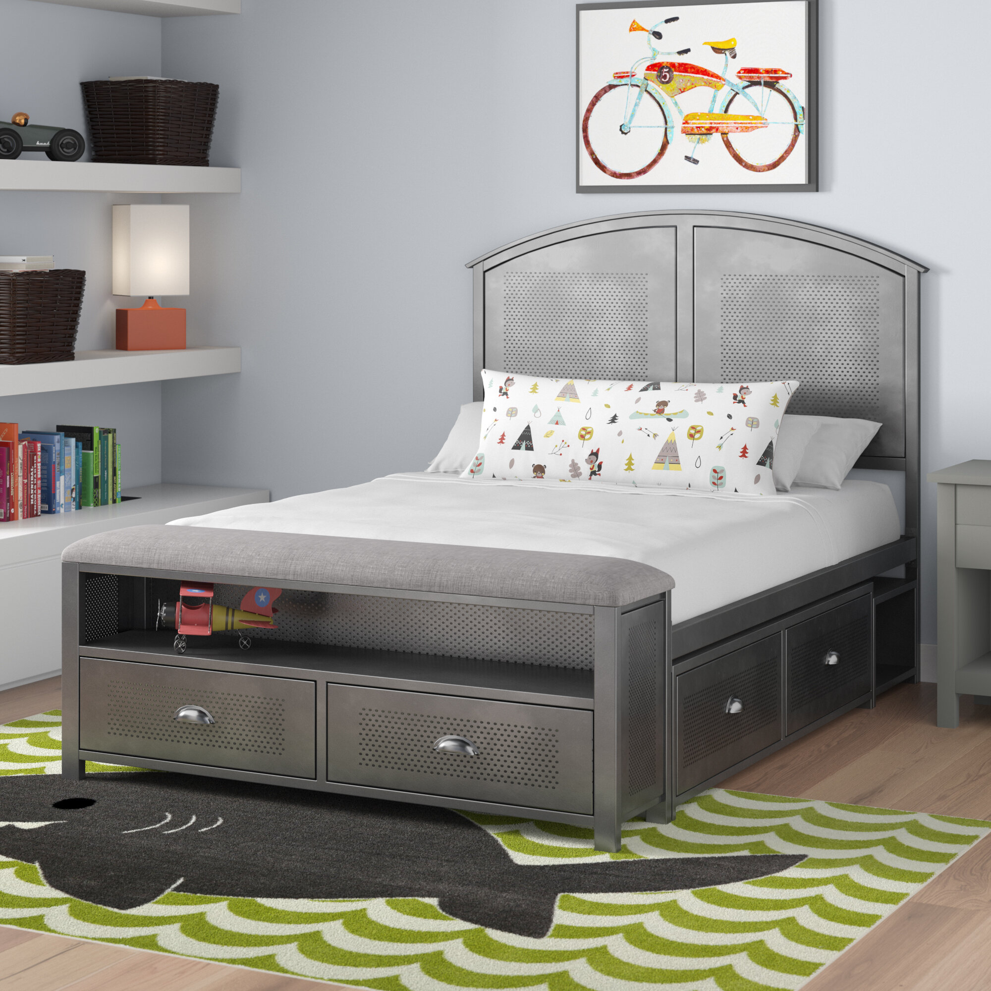 Viv Rae Albert Panel Configurable Bedroom Set Wayfair