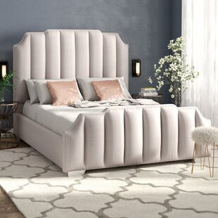 Everly Quinn Zulema Upholstered Platform Bed