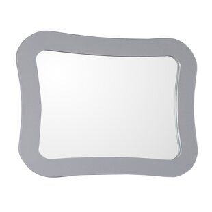 Check Prices Framed Bathroom/Vanity Wall Mirror By Bellaterra Home