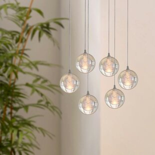 Riverdale 6-Light LED Cluster Pendant by Orren Ellis