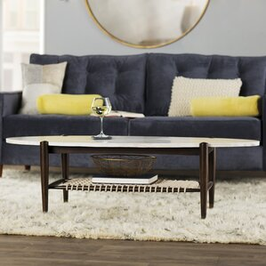 Cushendall Oval Coffee Table by Corrigan Studio