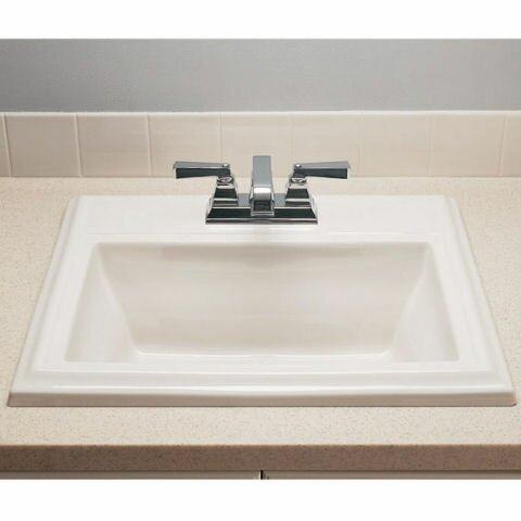 American Standard Town Square Self Rimming Bathroom Sink Reviews Wayfair