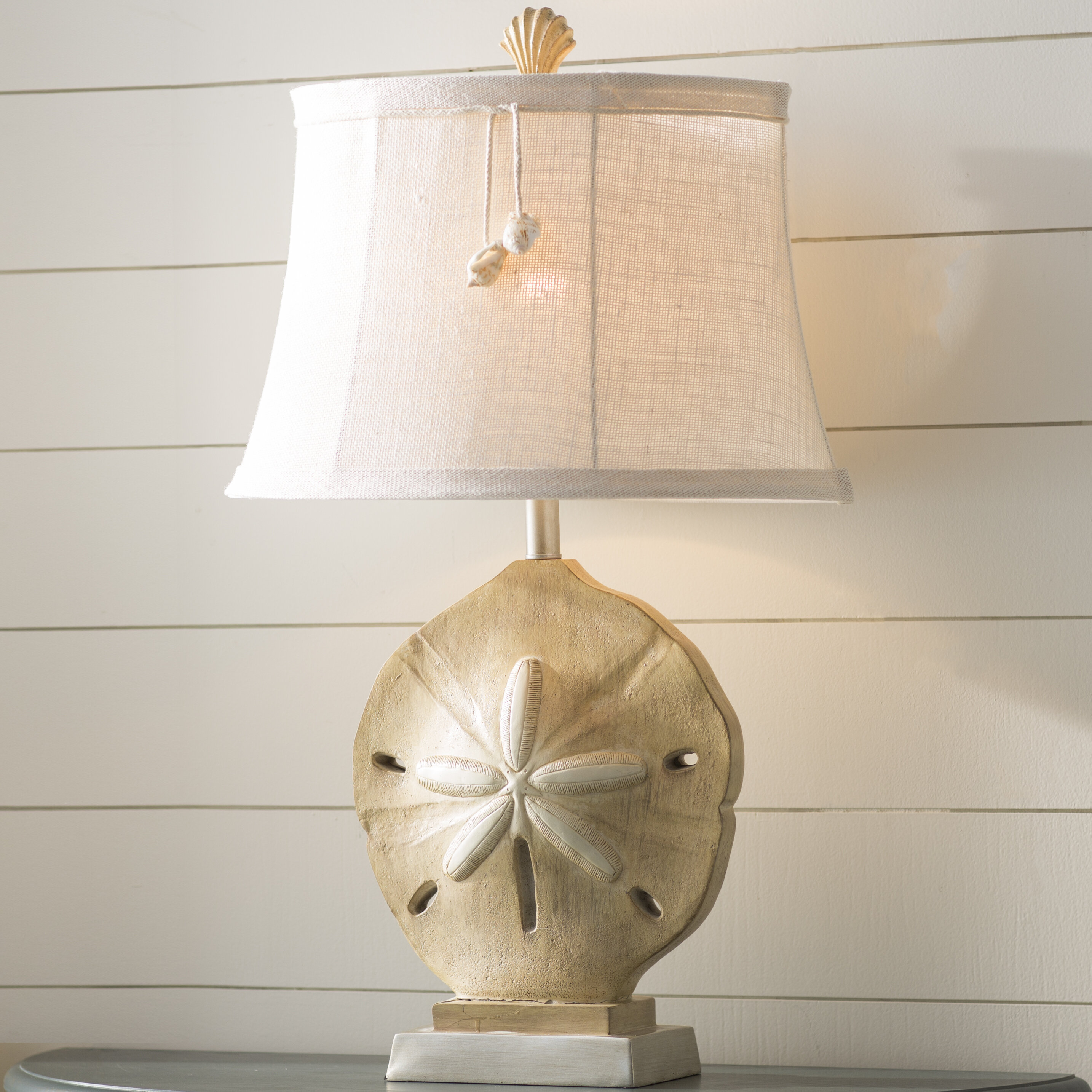 Kaiya Sand Dollar 31 Table Lamp