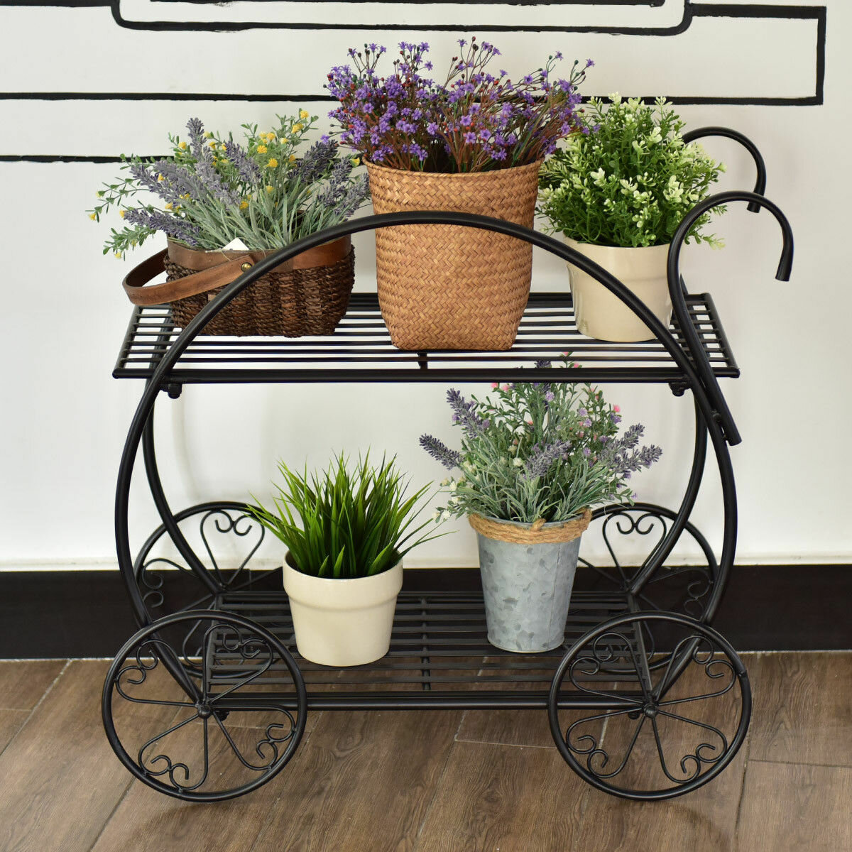 Bobby Flower Cart Multi Tiered Plant Stand Wayfair