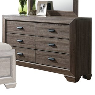 Weldy 6 Drawer Double Dresser