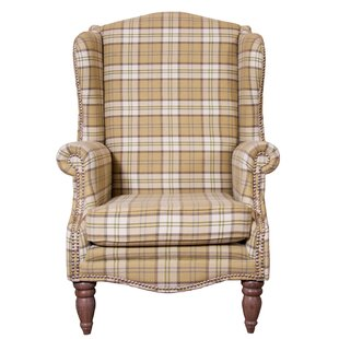 Dempster Wingback Chair By Union Rustic