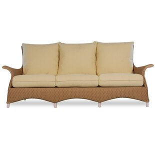 Lloyd Flanders Mandalay Patio Sofa with C..