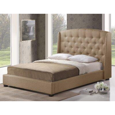 Dascomb Upholstered Platform Bed by Alcott Hill