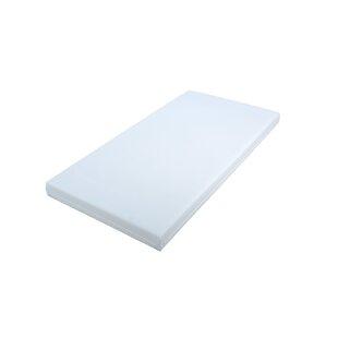 Wipe Clean Foam Mattress 60 X 120 Cm By Zoomie Kids