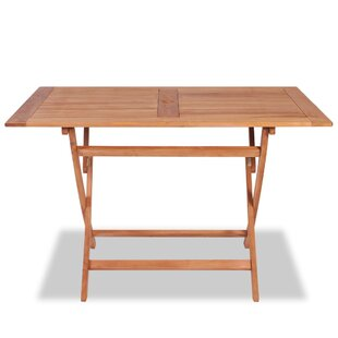 Carroll Folding Teak Dining Table By Sol 72 Outdoor