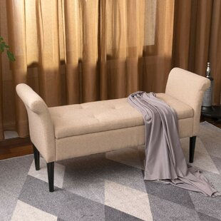 Rusnak Tufted Upholstered Storage Bench
