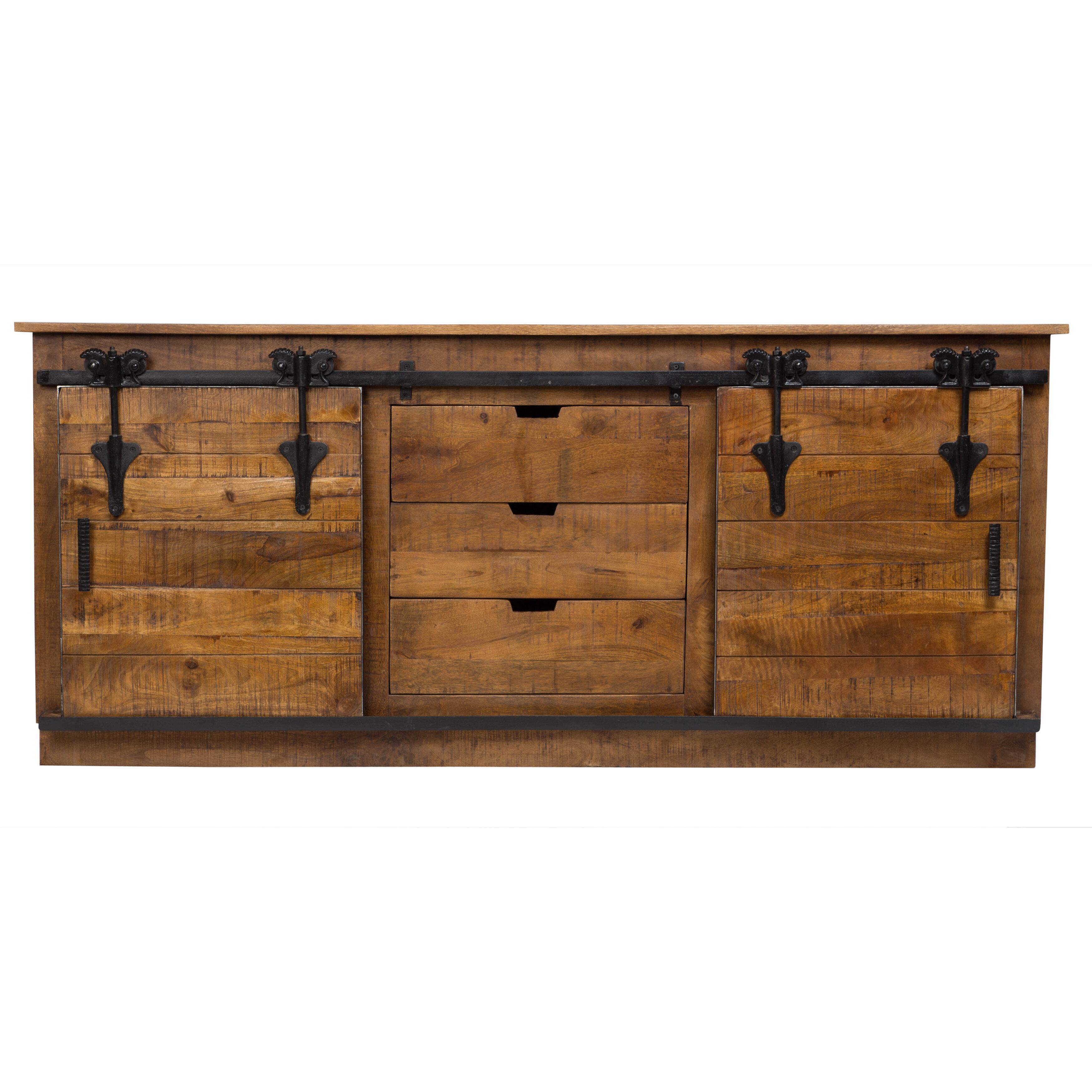 reviews furniture credenza barn door international designs ca porter pdp wayfair barns