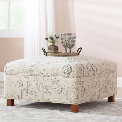 Lark Manor Sartain Storage Ottoman
