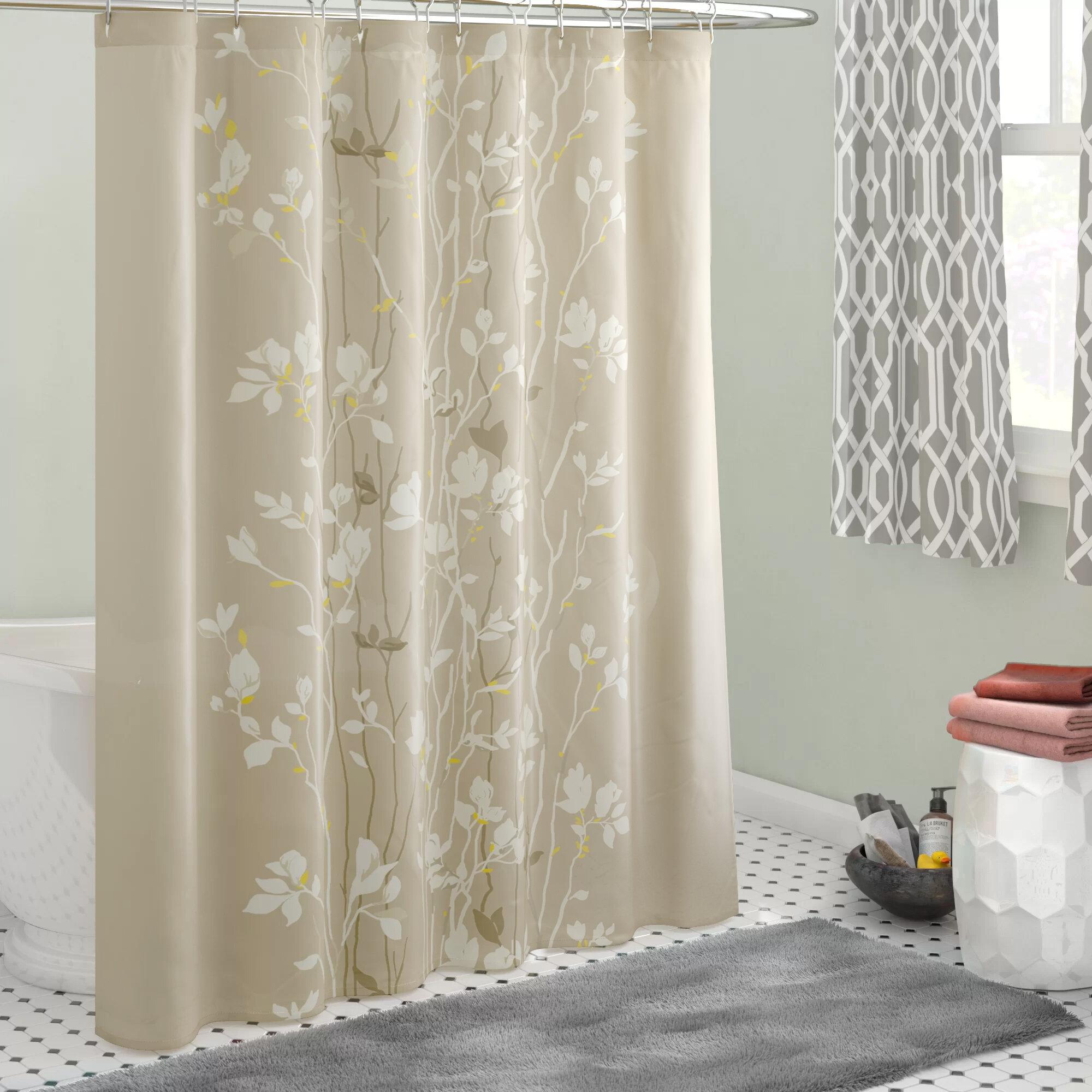 House Of Hampton Dambrosio Single Shower Curtain Reviews Wayfair Ca