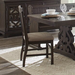 Amandier Traditional Upholstered Dining Chair (Set of 2)