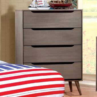 Modern Rustic Interiors Staton 6 Drawer Double Dresser