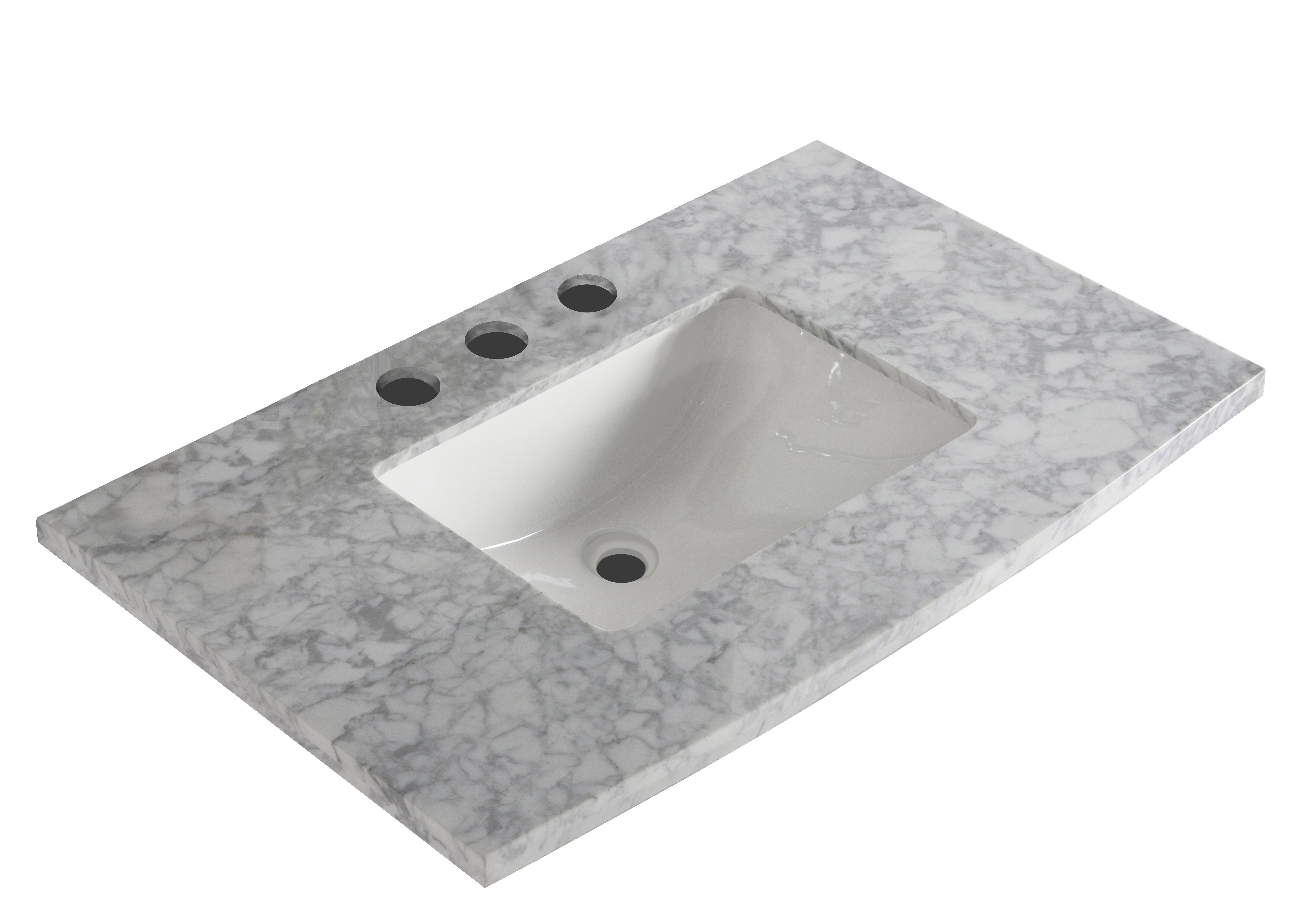 Bellaterra Home 36 Single Bathroom Vanity Top Wayfair
