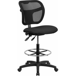 Deals Krull Mid-Back Mesh Drafting Chair by Symple Stuff