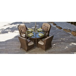 Halstead 7 Piece Dining Set with Cushions by Darby Home Co