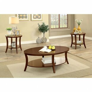 Lavallee 3 Piece Coffee Table Set