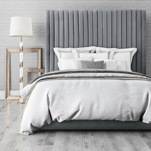 Inexpensive Abid Upholstered Platform Bed by Everly Quinn Reviews (2019) & Buyer's Guide