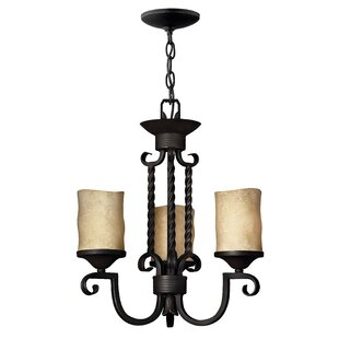 Darby Home Co Jamar 3-Light Shaded Chandelier